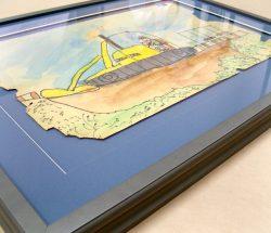 Children's framed artwork
