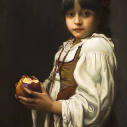 Untitled (Girl with Pomegranate)