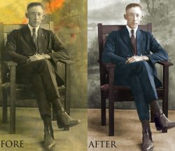 photo restoration services
