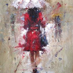 Seth Untitled (Woman in Rain)