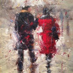 Seth Untitled (Couple in Rain)