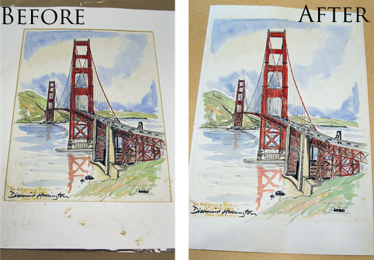 Fine art restoration