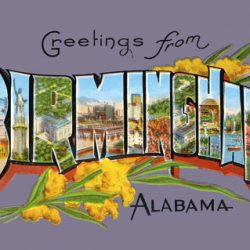 Greetings from Birmingham Alabama Lavender
