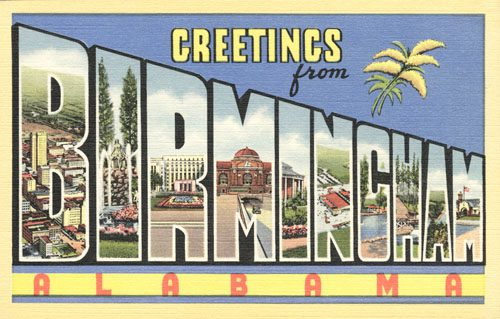 Greetings From Birmingham Pale Blue