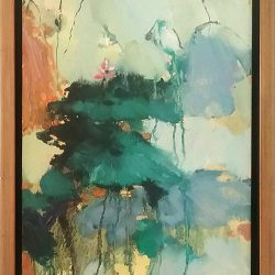 Sheng Untitled Floral Abstract (0013)