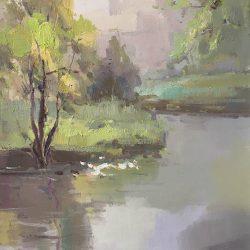 Leilin oil on canvas