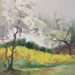 Leilin oil painting canvas