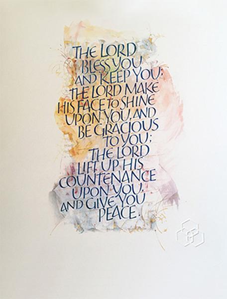 Saint John's Bible print