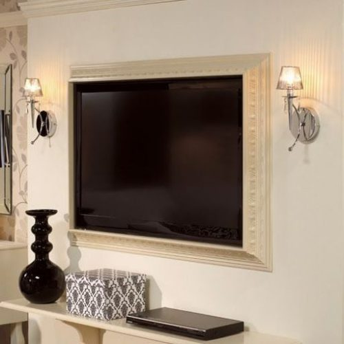 Custom Framing Flat Screen Televisions